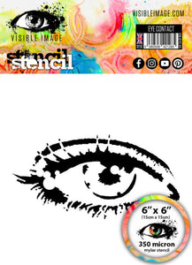 Visible Image - Stencils - Eye Contact