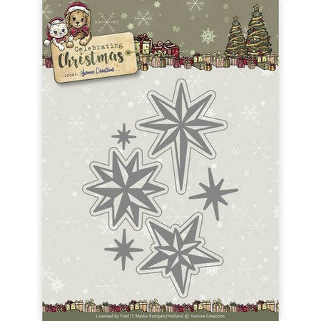 Yvonne Creations - Celebrating Chirstmas - Twinkling Stars