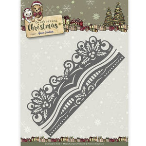 Yvonne Creations - Celebrating Chirstmas - Holly Border
