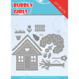 Yvonne Creations - Dies - Bubbly Girls - In The Garden