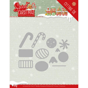 Yvonne Creations - Dies - Sweet Christmas - Sweet Christmas Candy