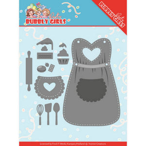 Yvonne Creations - Dies - Bubble Girls Party - Apron