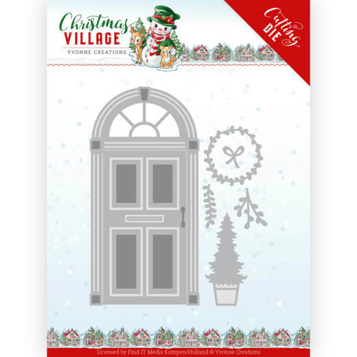 Yvonne Creations - Dies - Christmas Village - Christmas Door
