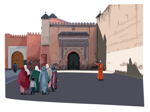 At the Gates of Dawn, Marrakesh