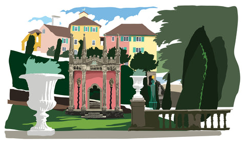 Gothic Pavillion - Portmeirion