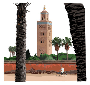 Koutoubia Mosque - Marrakesh