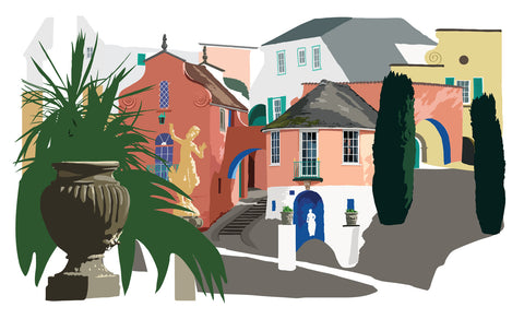 Number 6 - Portmeirion
