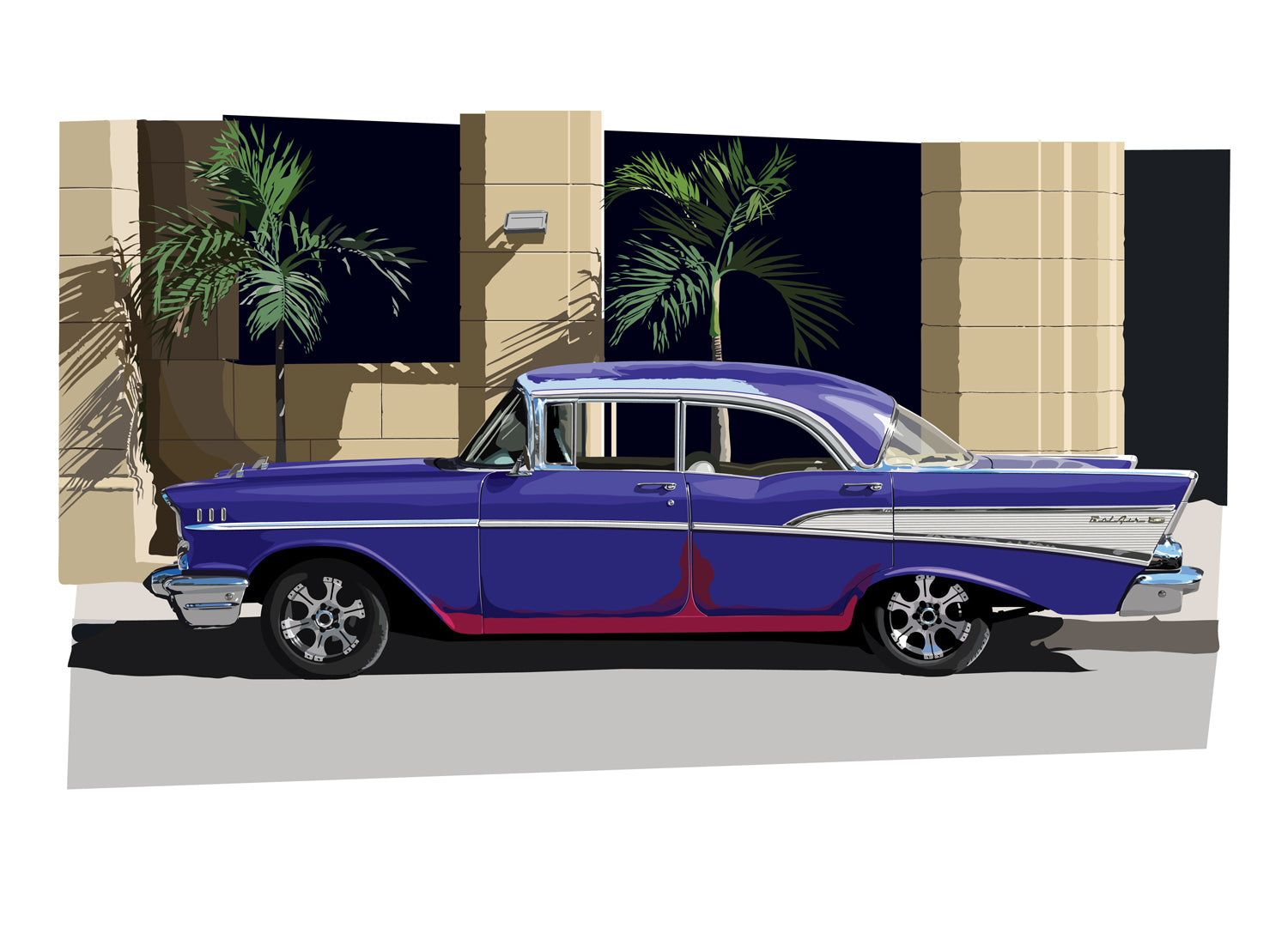 1957 Chevrolet Bel Air - Havana