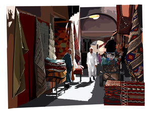 Walking the Souks, Marrakesh