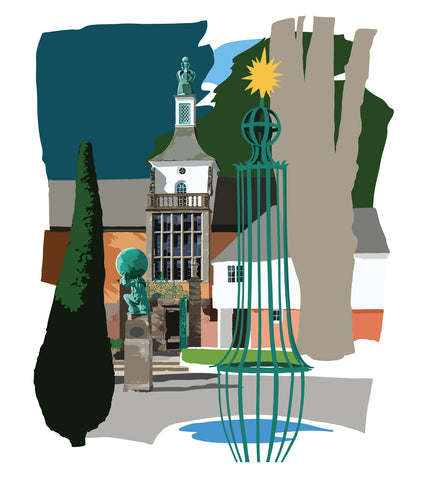 Hercules Hall - Portmeirion