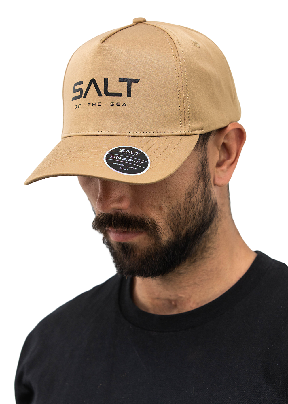 Salt Snapback Cap - Screenprinted Salt Logo