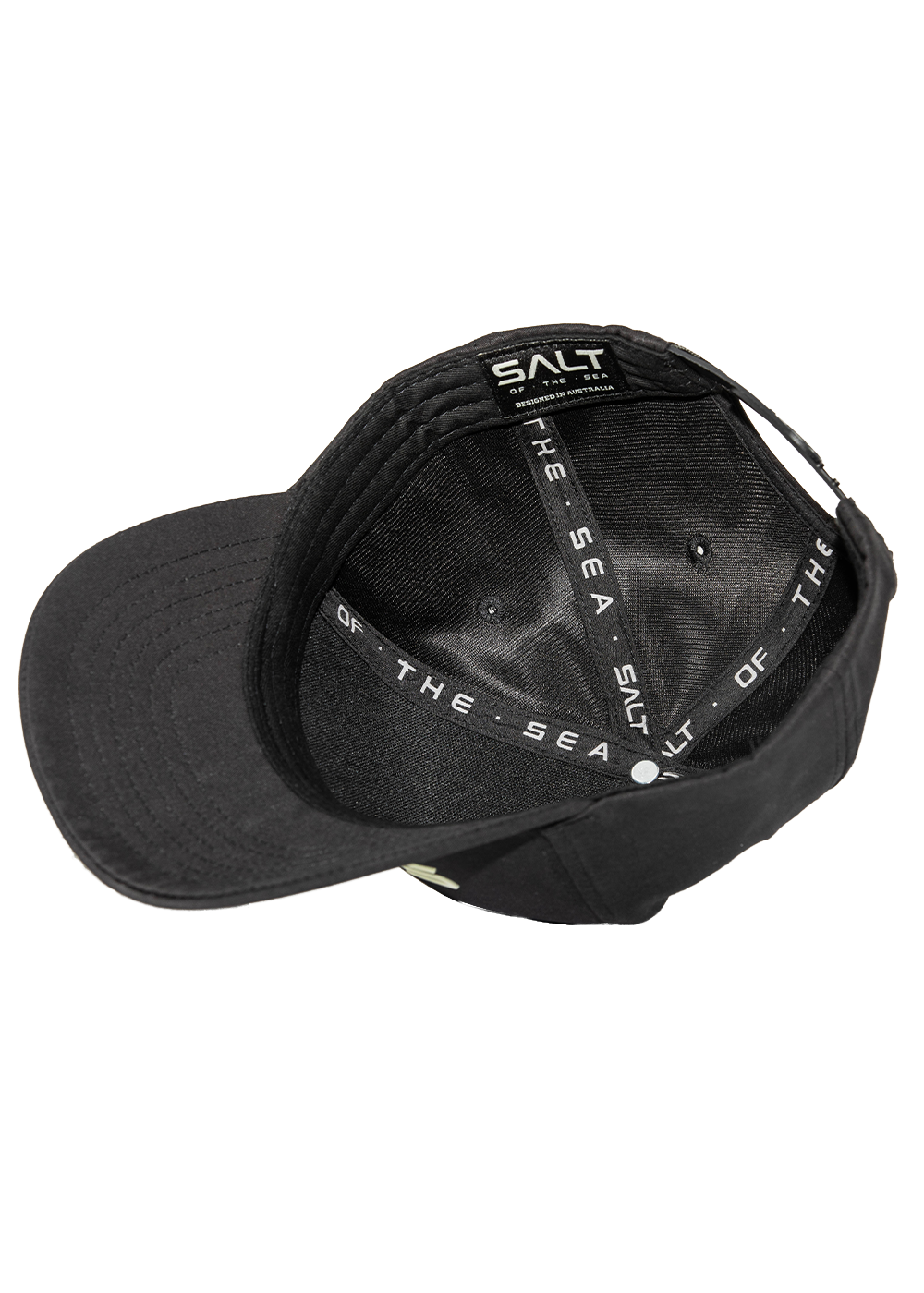 Salt Snapback Cap - Raised Salt Logo