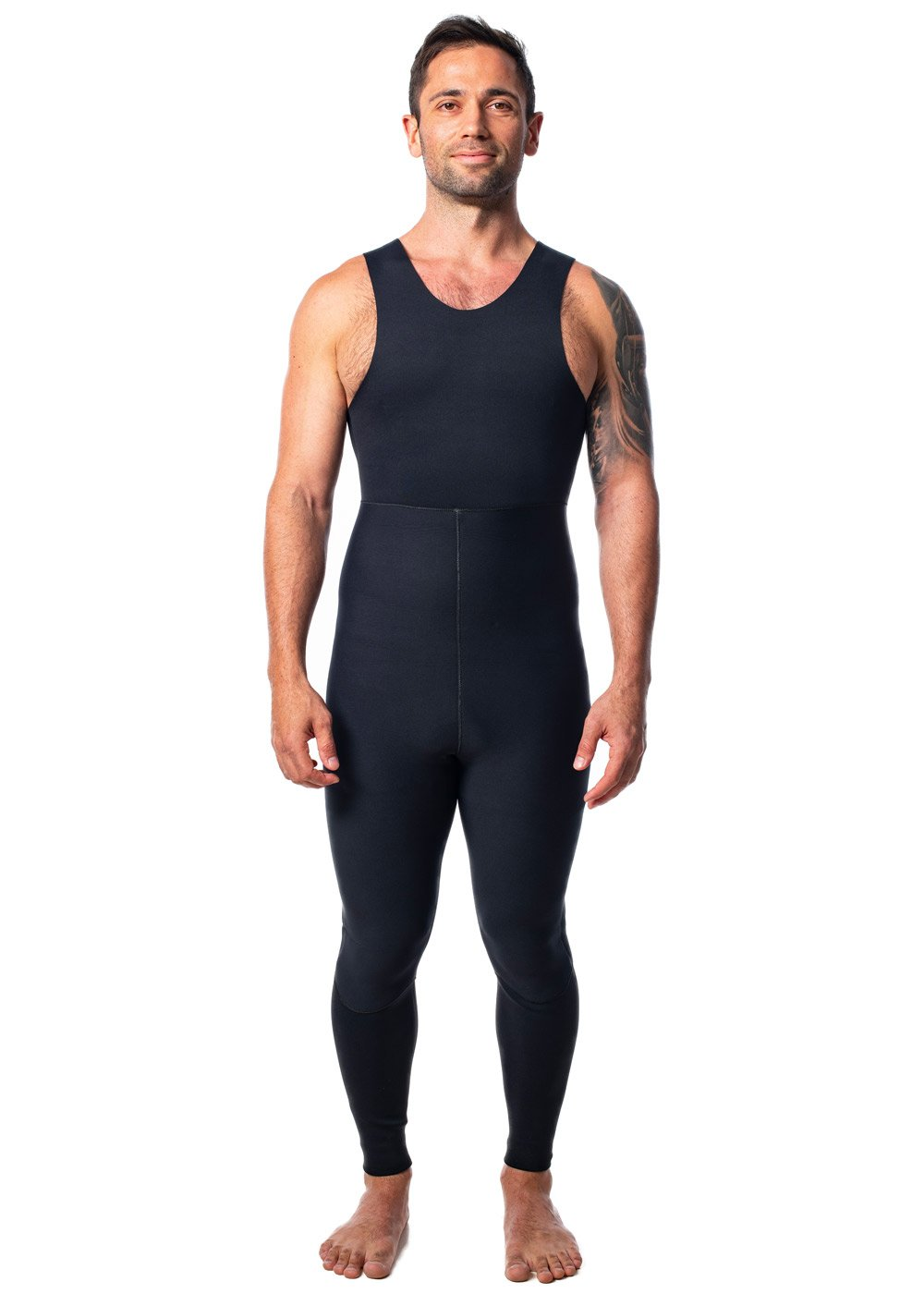 SALT Mens 3.5mm Hooded 2 Piece Wetsuit