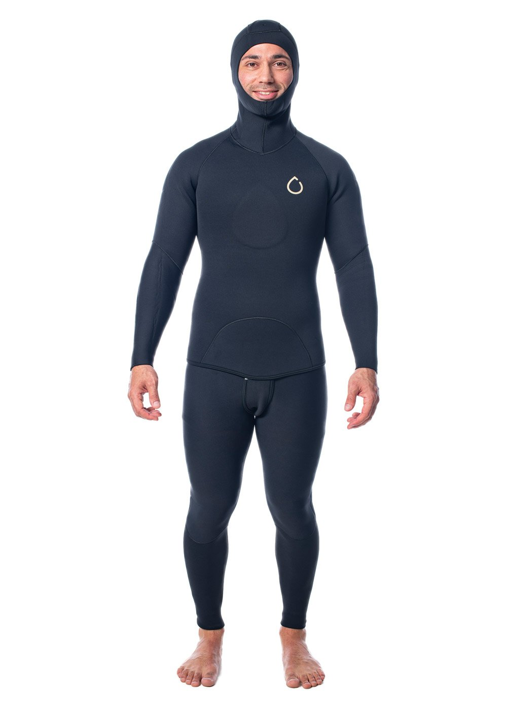 SALT Mens 2.0mm Hooded 2 Piece Wetsuit