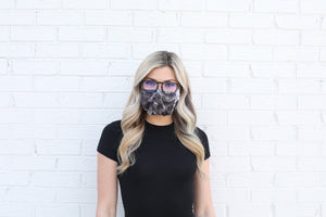 Open image in slideshow, (PRE-ORDER) GEN2 - BLACK & WHITE TIE-DYE SLEEVZ Mask