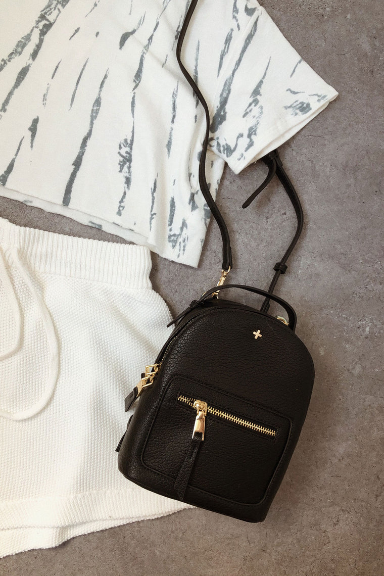 Peta + Jain Zoe Backpack - Black