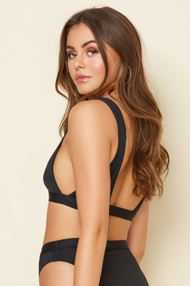 Festival Swim Top - Black