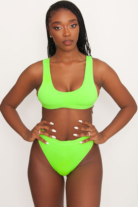 Festival Swim Top - Lime