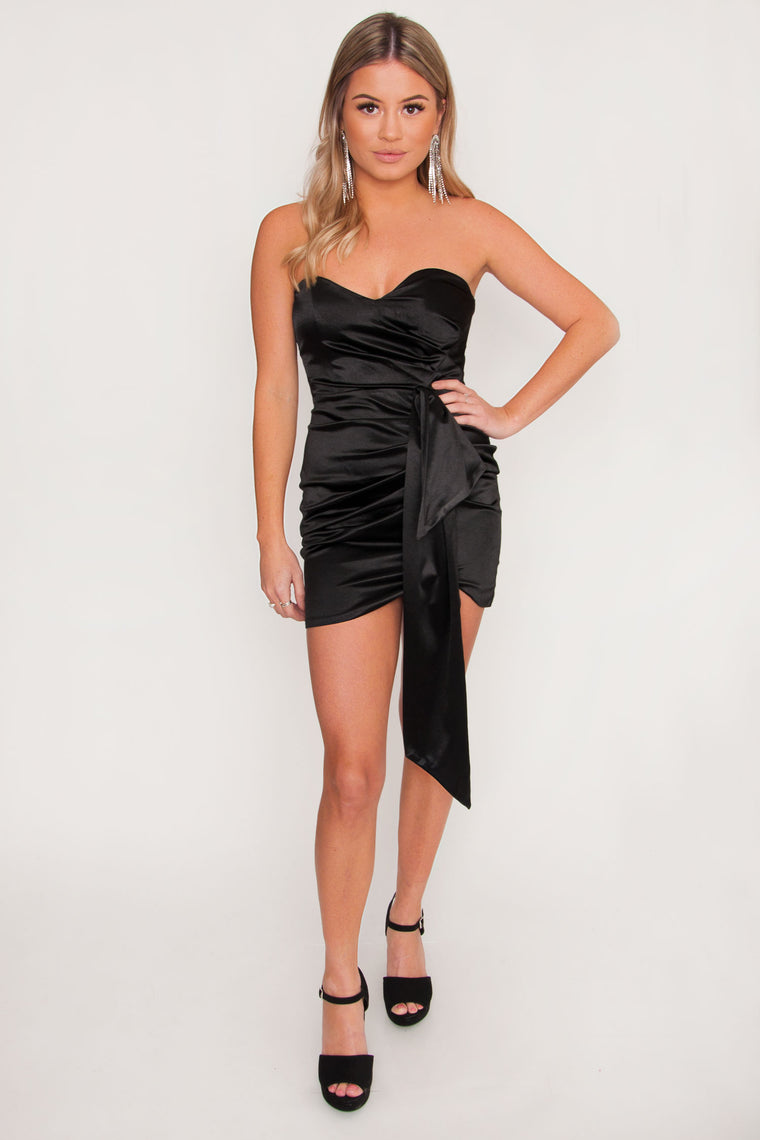 Inferno Satin Bodycon