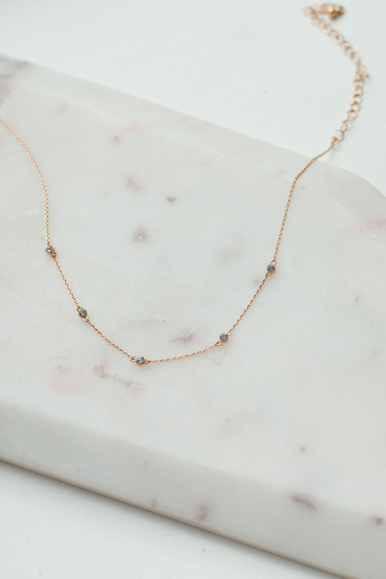 Ainsley Dainty Necklace