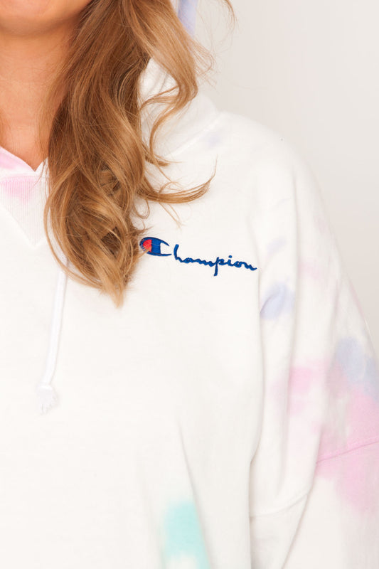 PRE ORDER Champion Oversized Hoodie - Cloud Dye Ice Cake
