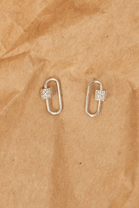 Dixie Earrings - Silver