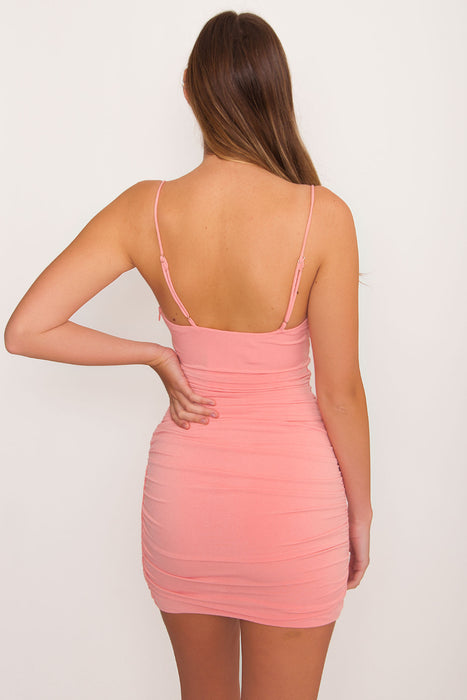 Rosa Ruched Bodycon