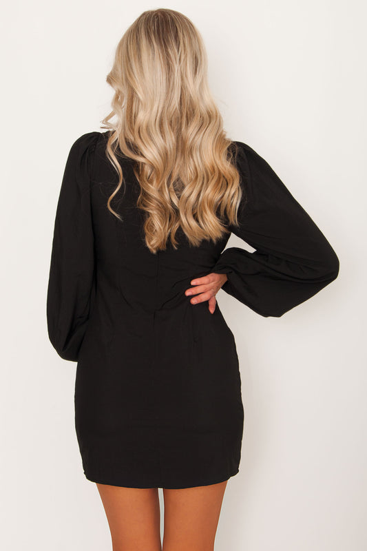 Changes Puff Sleeve Dress