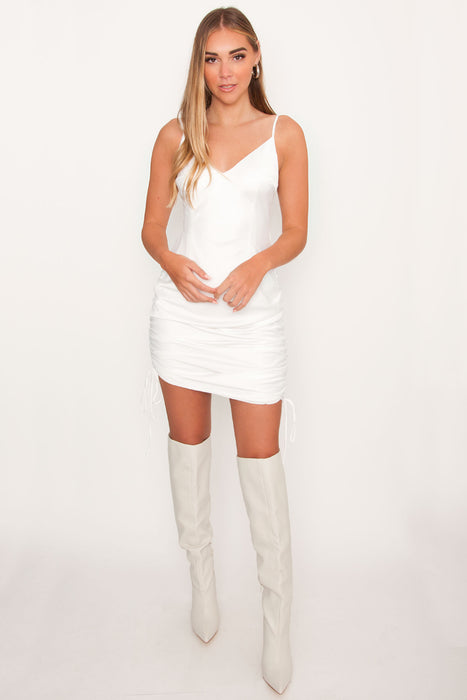Tiger Mist Alfie Dress - White