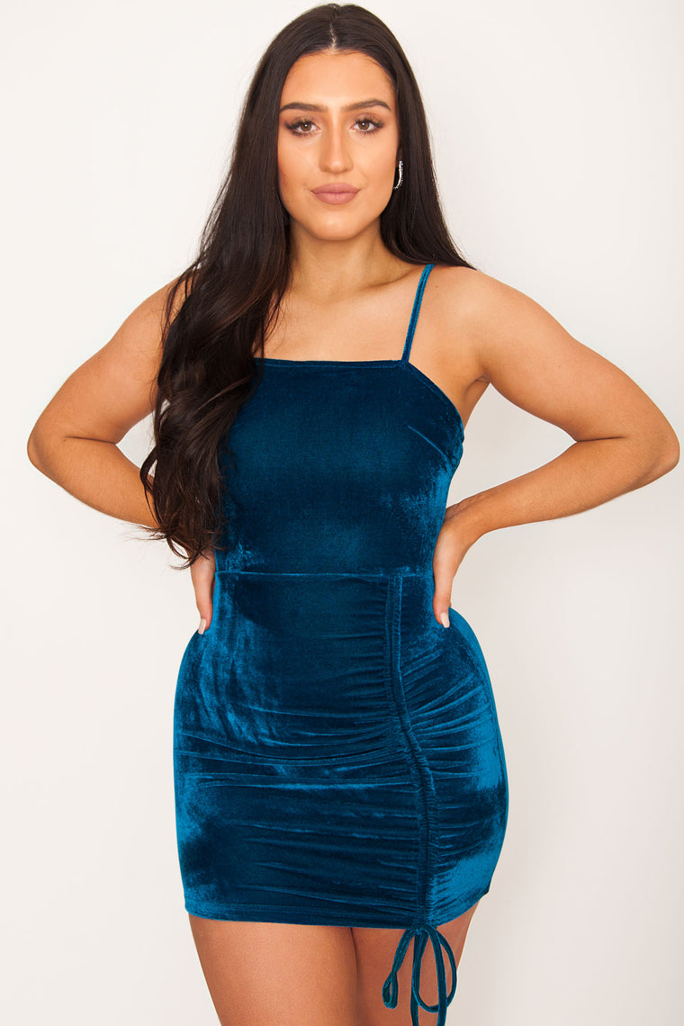 Hyde Velvet Bodycon