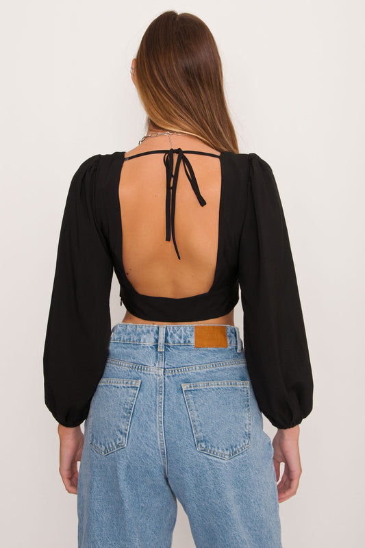 Monclair Open Back Top