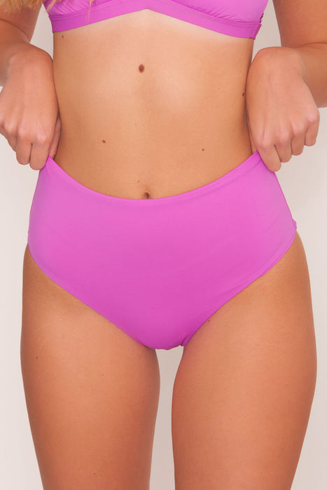 Balboa Swim Bottom - Purple