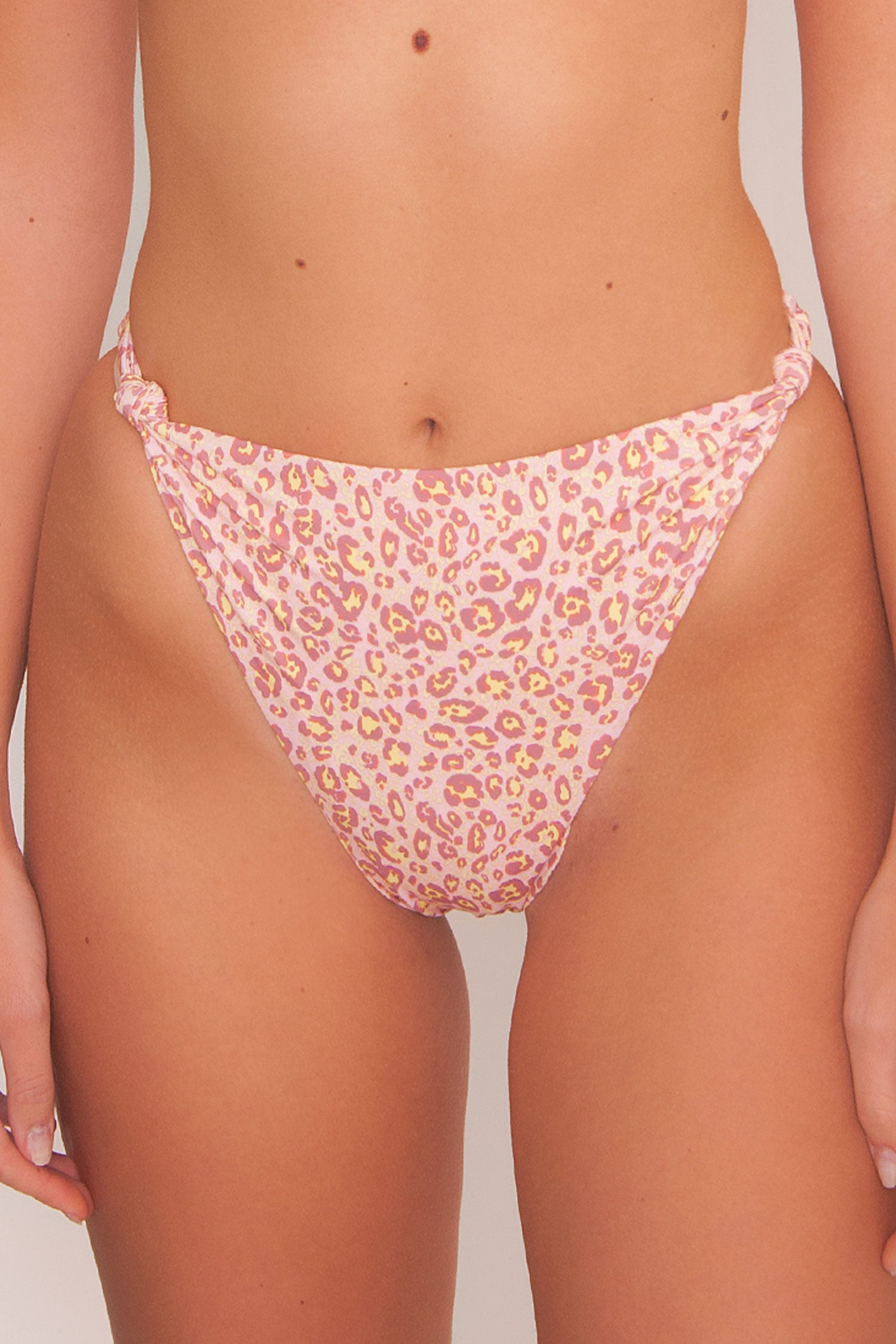 Divine Swim Bottom - Wild Leopard