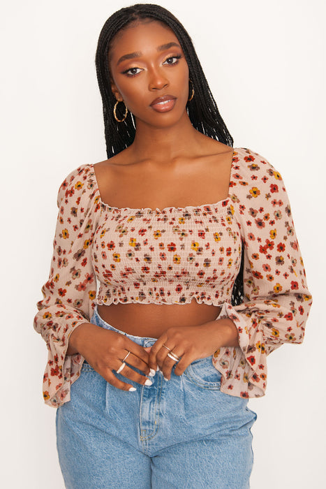 Somedays Lovin' So Sweet Wrap Top - Alexa Pope