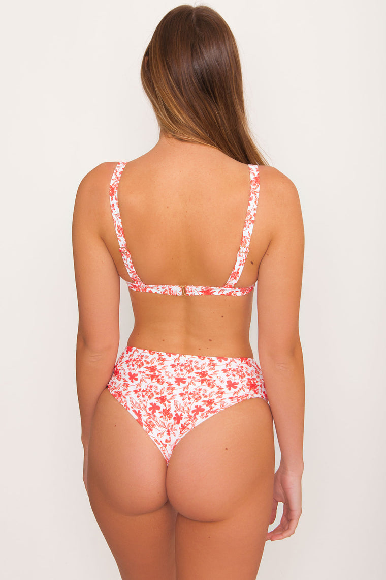 Kulani High Waist Cheeky Bottom - Scarlette