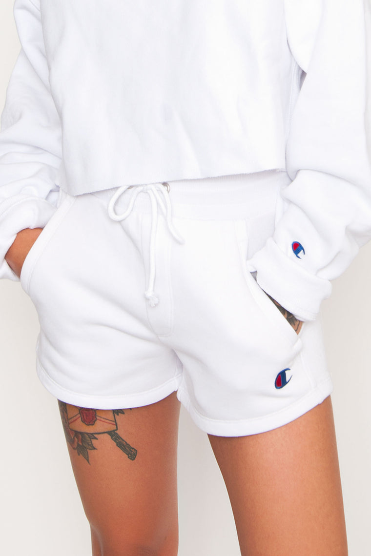 Champion Reverse Weave Shorts - White