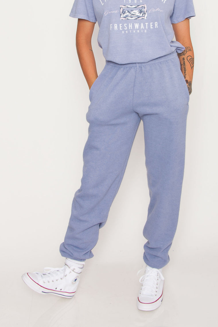 GKA Washed Joggers - Blue