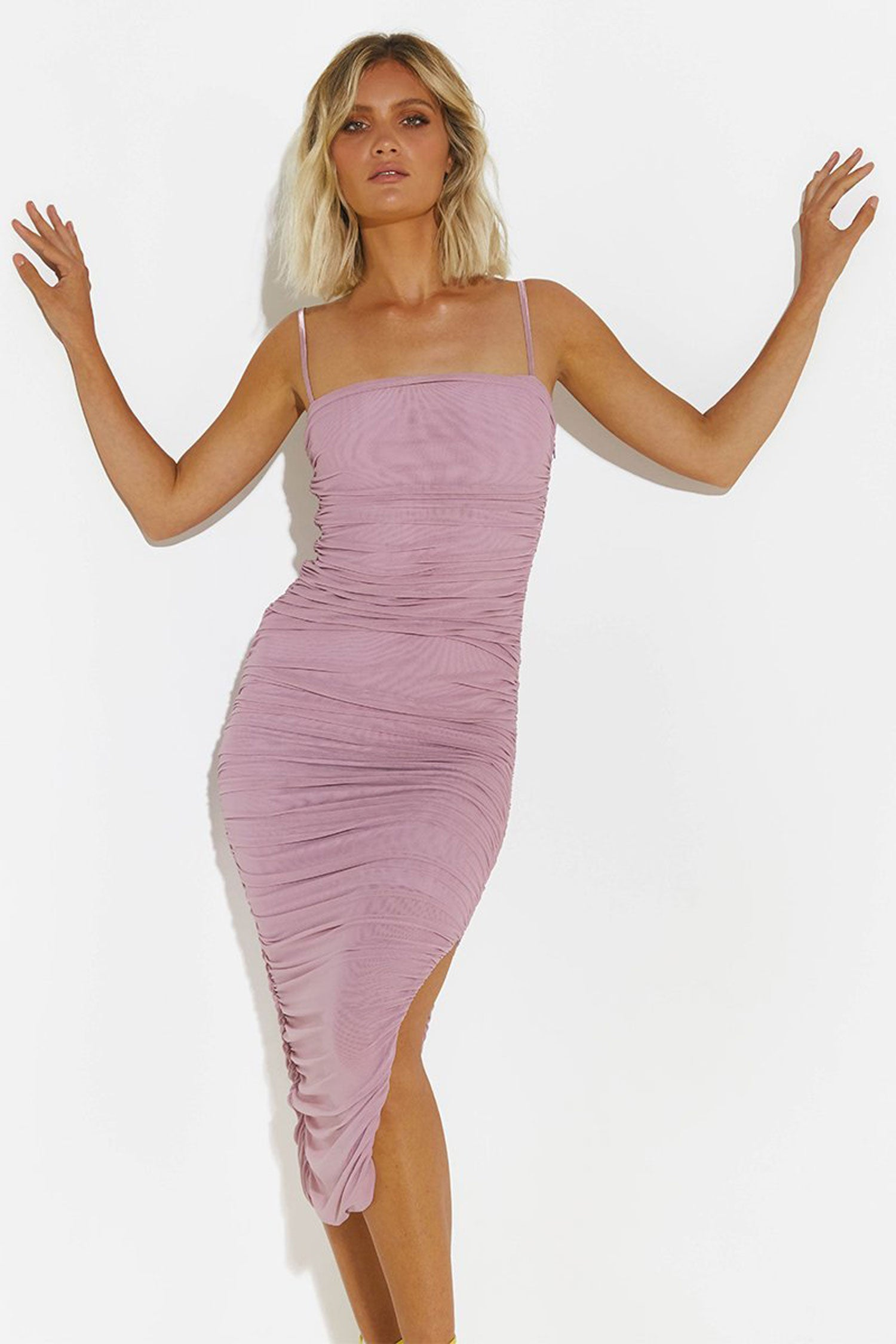 SNDYS Simone Dress - Mauve