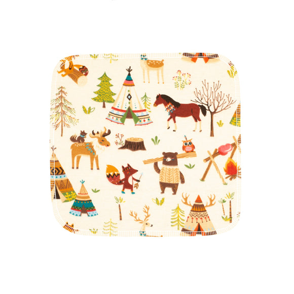 Unpaper Towels--24 count—Camping Critters Print--Porter Lee's