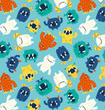 Unpaper Towels--24 count—Happy Monsters Print--Porter Lee's