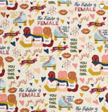 Unpaper Towels--24 count—The Future Is Female Print--Porter Lee's