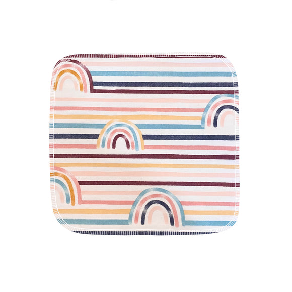 Unpaper Towels--24 count—Striped Rainbows Print--Porter Lee's