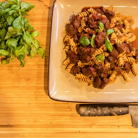 Vension Recipes - GameKeeper Venison Ragu