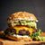 Venison Recipes - Guacamole & Cheddar Wild Game Burger