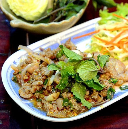 Duck and Goose Recipes - Wild Duck Larb