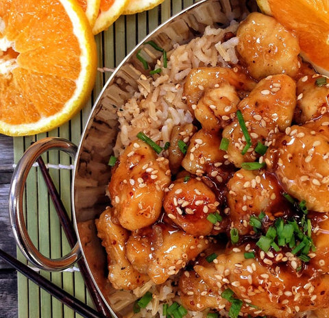 Quail and Pheasant Recipes - Orange Chicken Style Pheasant