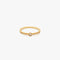 ELEMENT Single Ring S Matte Gold