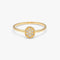 DAILY Oval Ring L - Gold