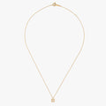 DAILY Square Necklace - Gold