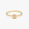 DAILY Square Ring S - Gold